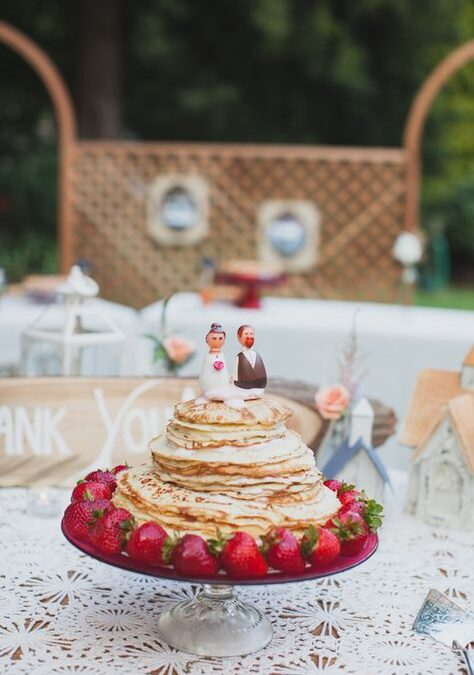 Its Pancake day – lets have a pancake wedding